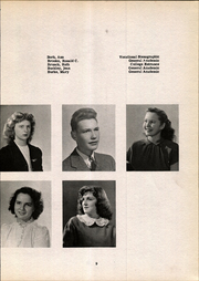 Page 13, 1947 Edition, Lancaster High School - Cayugan Yearbook (Lancaster, NY) online yearbook collection