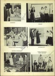 Page 12, 1952 Edition, Lancaster High School - Cayugan Yearbook (Lancaster, NY) online yearbook collection