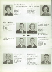Page 16, 1961 Edition, Whitney Point High School - Maroon and Gold Yearbook (Whitney Point, NY) online yearbook collection