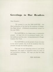 Page 6, 1946 Edition, Saugerties High School - Sawyer Yearbook (Saugerties, NY) online yearbook collection