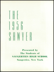 Page 5, 1956 Edition, Saugerties High School - Sawyer Yearbook (Saugerties, NY) online yearbook collection
