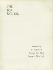 Page 5, 1959 Edition, Saugerties High School - Sawyer Yearbook (Saugerties, NY) online yearbook collection