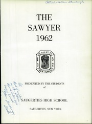 Page 5, 1962 Edition, Saugerties High School - Sawyer Yearbook (Saugerties, NY) online yearbook collection