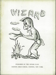 Page 5, 1957 Edition, Ossining High School - Wizard Yearbook (Ossining, NY) online yearbook collection