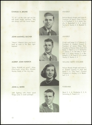 Page 16, 1948 Edition, Pelham Memorial High School - Pelican Yearbook (Pelham, NY) online yearbook collection