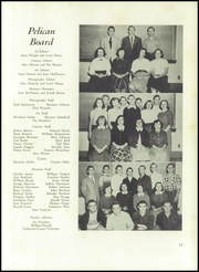 Page 15, 1951 Edition, Pelham Memorial High School - Pelican Yearbook (Pelham, NY) online yearbook collection