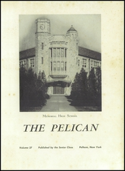 Page 5, 1951 Edition, Pelham Memorial High School - Pelican Yearbook (Pelham, NY) online yearbook collection