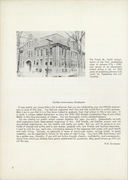 Page 8, 1955 Edition, Johnson City High School - Wildcat Yearbook (Johnson City, NY) online yearbook collection