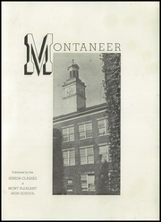 Page 5, 1946 Edition, Mont Pleasant High School - Montaneer Yearbook (Schenectady, NY) online yearbook collection