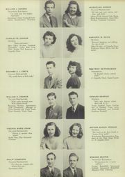 Page 15, 1947 Edition, Mont Pleasant High School - Montaneer Yearbook (Schenectady, NY) online yearbook collection