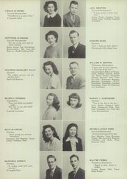 Page 16, 1947 Edition, Mont Pleasant High School - Montaneer Yearbook (Schenectady, NY) online yearbook collection