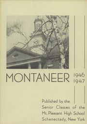 Page 3, 1947 Edition, Mont Pleasant High School - Montaneer Yearbook (Schenectady, NY) online yearbook collection