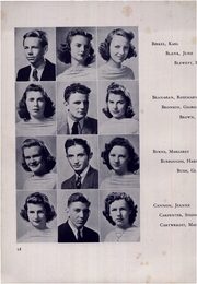 Page 22, 1942 Edition, Freeport High School - Voyageur Yearbook (Freeport, NY) online yearbook collection