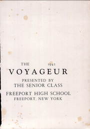 Page 7, 1942 Edition, Freeport High School - Voyageur Yearbook (Freeport, NY) online yearbook collection