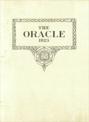 Page 3, 1923 Edition, White Plains High School - Oracle Yearbook (White Plains, NY) online yearbook collection