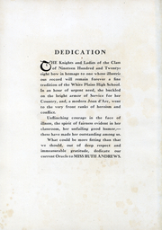 Page 4, 1928 Edition, White Plains High School - Oracle Yearbook (White Plains, NY) online yearbook collection