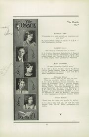 Page 16, 1929 Edition, White Plains High School - Oracle Yearbook (White Plains, NY) online yearbook collection