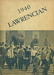 1940 Edition, Lawrence High School - Lawrencian Yearbook (Cedarhurst, NY)
