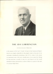 Page 5, 1941 Edition, Lawrence High School - Lawrencian Yearbook (Cedarhurst, NY) online yearbook collection