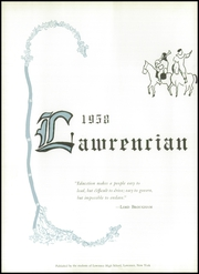 Page 6, 1958 Edition, Lawrence High School - Lawrencian Yearbook (Cedarhurst, NY) online yearbook collection