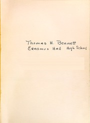 Page 5, 1937 Edition, Erasmus Hall High School - Arch Yearbook (Brooklyn, NY) online yearbook collection