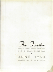 Page 7, 1953 Edition, Forest Hills High School - Forester Yearbook (Forest Hills, NY) online yearbook collection