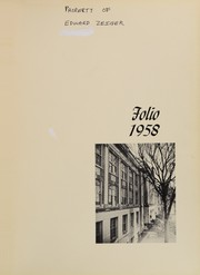 Page 5, 1958 Edition, Jamaica High School - Folio Yearbook (Jamaica, NY) online yearbook collection