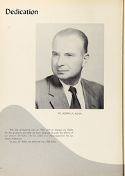 Page 8, 1958 Edition, Long Beach High School - Echo Yearbook (Long Beach, NY) online yearbook collection
