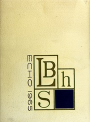 1965 Edition, Long Beach High School - Echo Yearbook (Long Beach, NY)