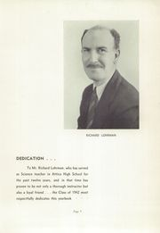 Page 7, 1942 Edition, Attica High School - Torch Yearbook (Attica, NY) online yearbook collection