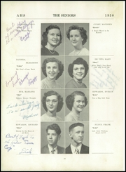 Page 14, 1950 Edition, Attica High School - Torch Yearbook (Attica, NY) online yearbook collection