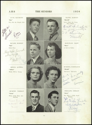 Page 17, 1950 Edition, Attica High School - Torch Yearbook (Attica, NY) online yearbook collection