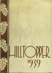 1939 Edition, Fredonia High School - Hilltopper Yearbook (Fredonia, NY)