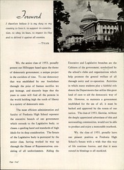 Page 8, 1953 Edition, Fredonia High School - Hilltopper Yearbook (Fredonia, NY) online yearbook collection