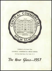 Page 5, 1957 Edition, Central Commercial High School - Hour Glass Yearbook (New York, NY) online yearbook collection