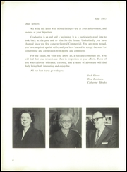 Page 8, 1957 Edition, Central Commercial High School - Hour Glass Yearbook (New York, NY) online yearbook collection