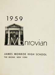 Page 5, 1959 Edition, James Monroe High School - Monrovian Yearbook (Bronx, NY) online yearbook collection