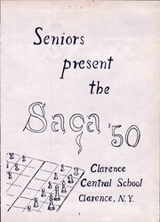 Page 5, 1950 Edition, Clarence Central School - Saga Yearbook (Clarence, NY) online yearbook collection