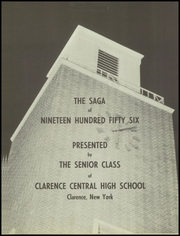 Page 5, 1956 Edition, Clarence Central School - Saga Yearbook (Clarence, NY) online yearbook collection