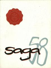 Page 1, 1958 Edition, Clarence Central School - Saga Yearbook (Clarence, NY) online yearbook collection