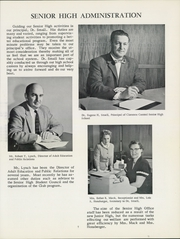 Page 11, 1959 Edition, Clarence Central School - Saga Yearbook (Clarence, NY) online yearbook collection