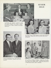Page 12, 1959 Edition, Clarence Central School - Saga Yearbook (Clarence, NY) online yearbook collection