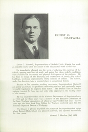 Page 12, 1929 Edition, Bennett High School - Beacon Yearbook (Buffalo, NY) online yearbook collection