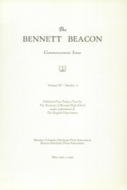 Page 9, 1929 Edition, Bennett High School - Beacon Yearbook (Buffalo, NY) online yearbook collection