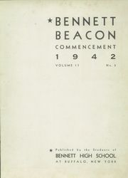 Page 3, 1942 Edition, Bennett High School - Beacon Yearbook (Buffalo, NY) online yearbook collection