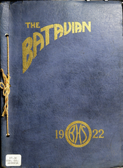 Page 1, 1922 Edition, Batavia High School - Batavian Yearbook (Batavia, NY) online yearbook collection