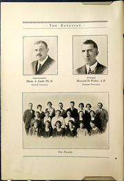 Page 10, 1922 Edition, Batavia High School - Batavian Yearbook (Batavia, NY) online yearbook collection
