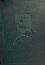 1934 Edition, Batavia High School - Batavian Yearbook (Batavia, NY)