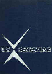 1958 Edition, Batavia High School - Batavian Yearbook (Batavia, NY)