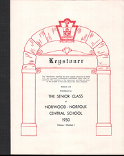 Page 5, 1950 Edition, Norwood Norfolk Central School - Keystoner Yearbook (Norwood, NY) online yearbook collection